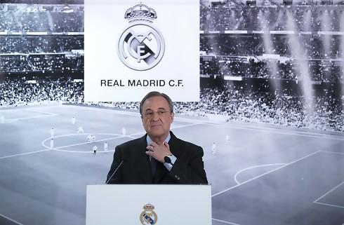 Perez genvalgt som Real Madrid-præsident