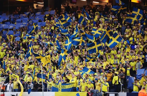 Sverige tror på 40.000 tilskuere mod Norge