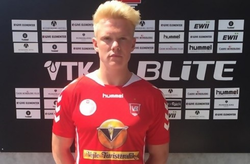 Vejle rykker U19-topscorer på førsteholdet