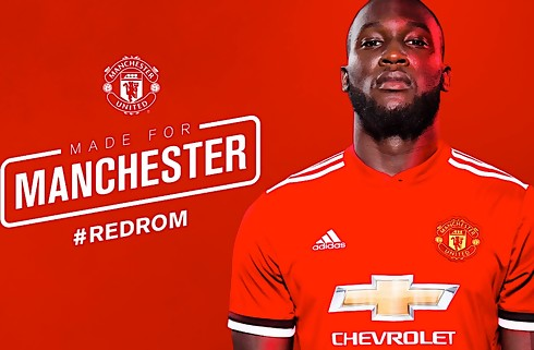 Officielt: Lukaku fem år i United