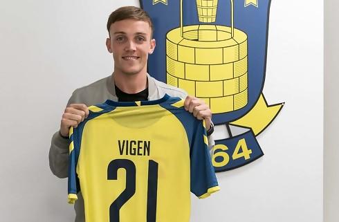Brøndby henter Lasse Vigen i Fulham