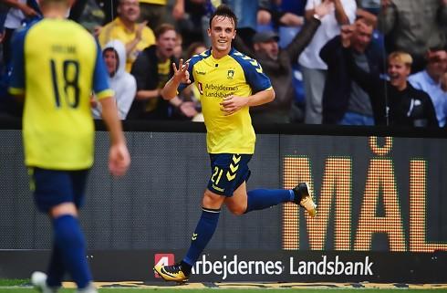 Lasse Vigen månedens Superliga-spiller