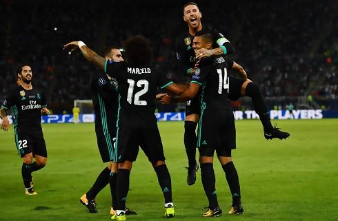 Real dominerede og tog Super Cup-trofæet