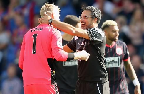 Huddersfield-boss: Lössl vandt kampen for os