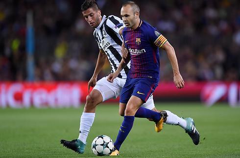 Tilfreds Iniesta: Vi dominerede mod Juventus