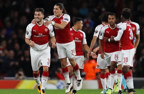 Arsenal slog Köln på god anden halvleg