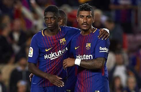 Barcelonas Paulinho jubler over sejrsmål