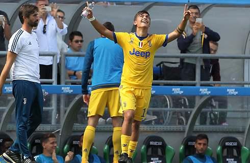 Vilde Dybala scorede hattrick i Juventus-sejr