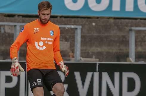 Nykøbing FC giver førstekeeperen to år mere