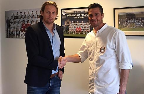 Egholm skriver kontrakt med SønderjyskE