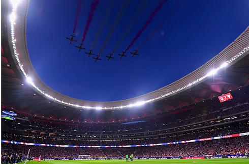 Copa-finale spilles på Wanda Metropolitano