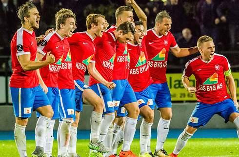 Oprykningsfest i Hvidovre efter 3-1-sejr