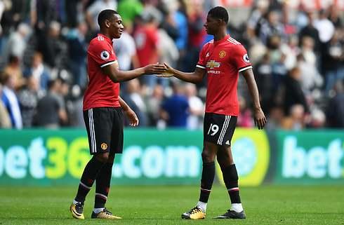 Mourinho kan bruge både Rashford og Martial