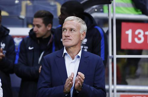 Deschamps: Tyskland er et niveau over os