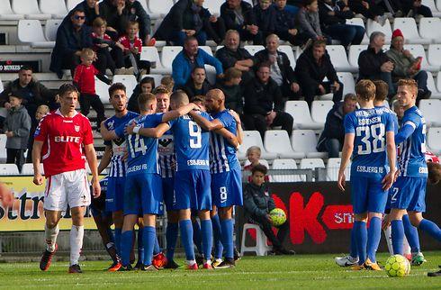 Esbjerg tog førstepladsen med sejr