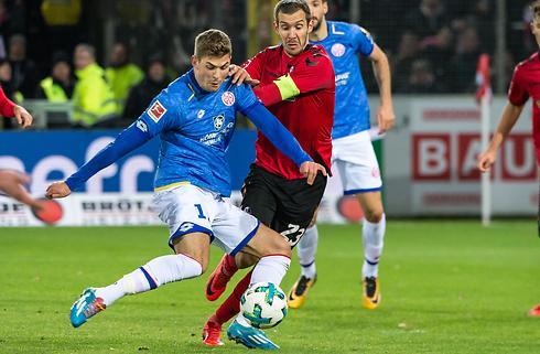 Emil Berggreen scorede i Mainz-debut