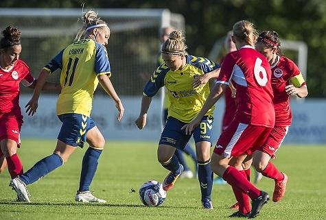 Nanna Christiansen scorede to i Brøndby-storsejr