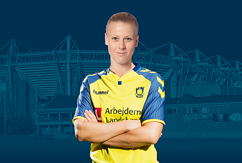 Sophie Sundqvist vil tage det næste skridt i Brøndby