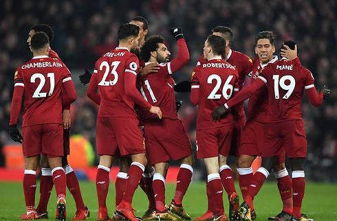 Salah og Firmino sænkede Southampton