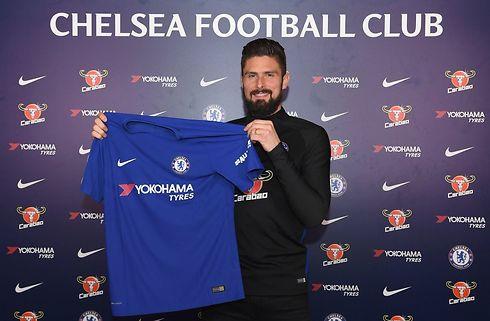 Giroud: Chelsea den perfekte klub for mig
