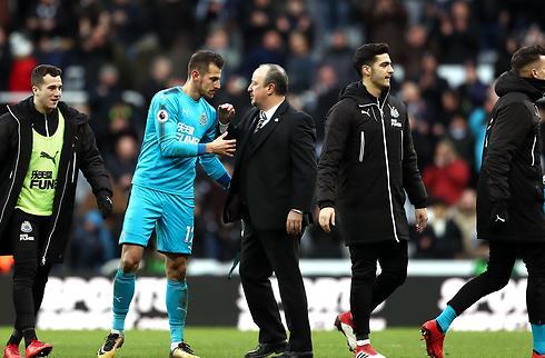 Benitez går hårdt til tidligere Esbjerg-keeper