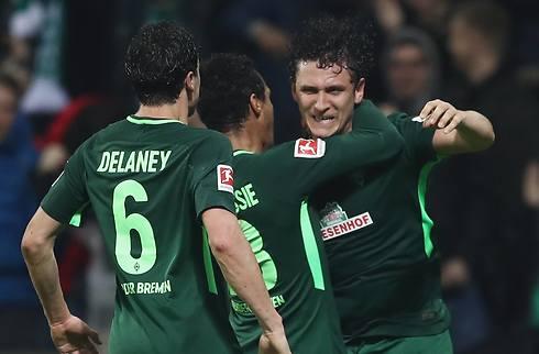 Delaney og Werder fik vigtig sejr mod Köln