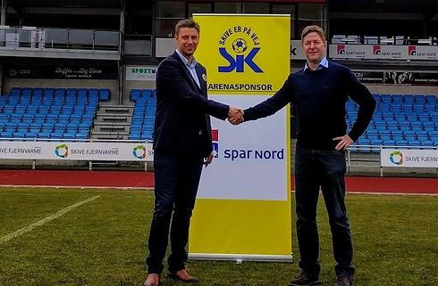 Spar Nord fortsætter stadionsponsorat i Skive