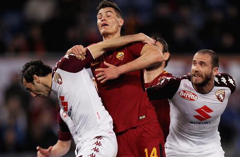 Schick glæder sig over første ligamål for Roma