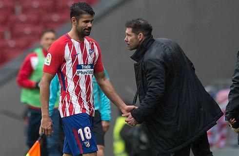 Diego Costa er tilbage for Atletico Madrid