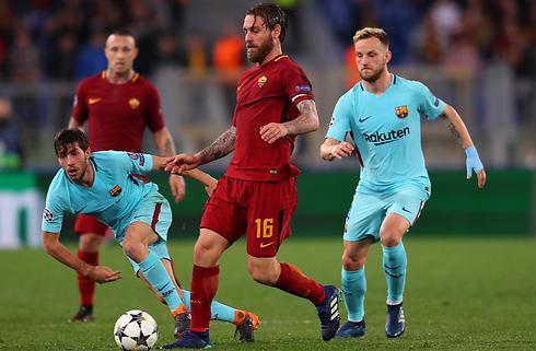Roma bombede Barca ud af CL