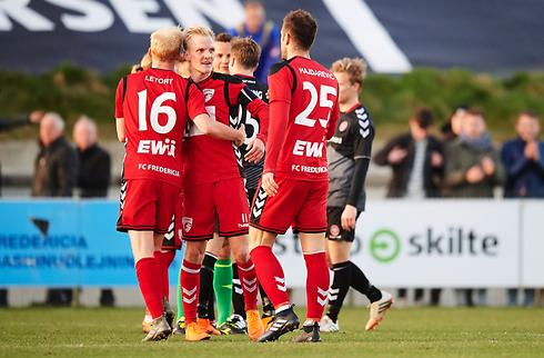 Fredericia er toer efter sikker sejr i Nykøbing
