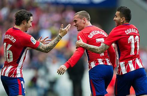 Solide Atletico besejrede sikkert Levante