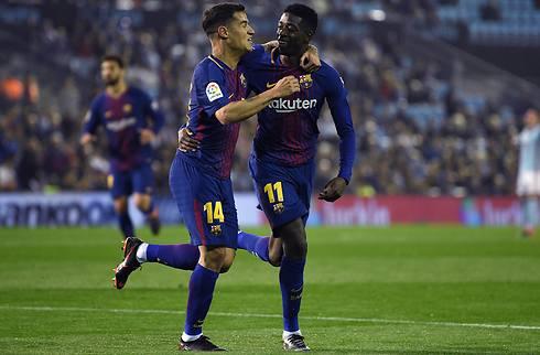 Barca-træner vil holde fast på Dembele