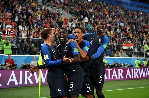 Umtiti stangede Frankrig i VM-finalen