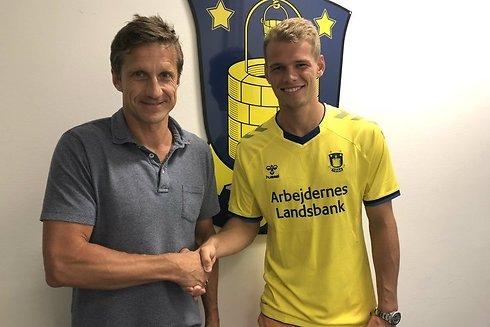 Brøndby lejer Nikolai Laursen i et år