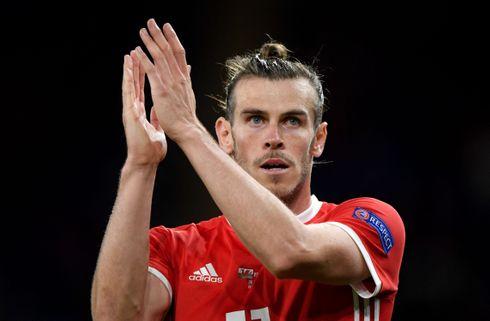 Småskadet Bale er tvivlsom til Irland-kamp