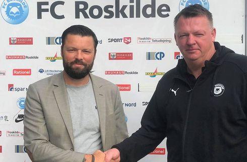 Officielt: Lønstrup er ny Roskilde-træner