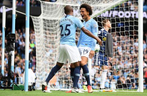 Manchester City satte Fulham på plads
