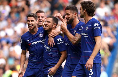 Hazard: Giroud er verdens bedste target-mand