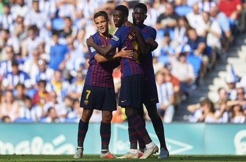 Barcelona sejrede på tre gyldne minutter
