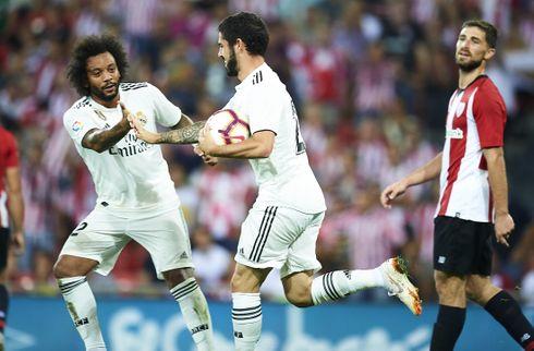 Real Madrid kunne ikke knække baskere