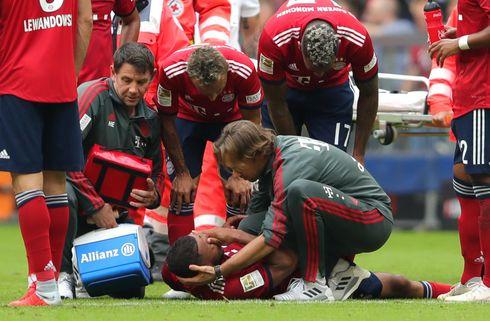 Bayern-bet: Tolisso har revet korsbåndet over