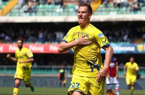 Perle indledte Chievo-comeback mod Roma