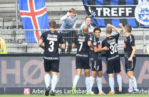 SønderjyskE straffede Brøndbys sløje defensiv