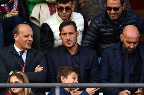 Skuffet Totti siger op i Roma