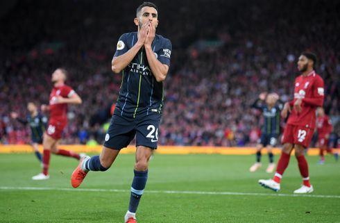 Mahrez skurken i Liverpool-remis