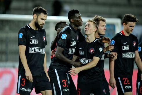 FCM og Fredericia spillede 2-2 i livlig test