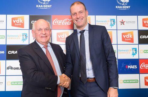 Gent-boss presser Thorup: Vi vil være mestre