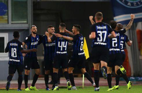 Inter vandt med tenniscifre i pokalen