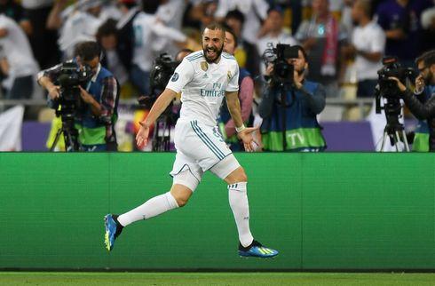 Real Madrid-skarpretter har brækket fingeren